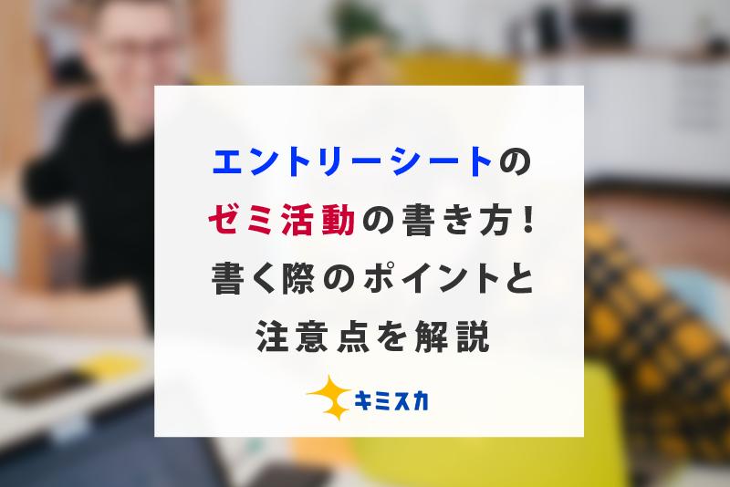 エントリーシート_ゼミ
